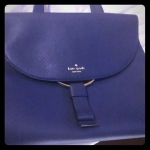 Kate Spade blue purse, almost new!